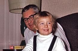 Beth and Grandpa Cornie